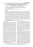 Ảnh hưởng của nhiệt độ và thời gian nén ép đến một số tính chất vật lý, cơ học gỗ Keo lai (Acacia mangium x Acacia auriculiformis)