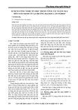 Áp dụng công nghệ thông tin trong công tác giảng dạy môn toán kinh tế tại trường Đại học Lâm Nghiệp