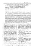 Tác động của chính sách đất đai đến thu nhập và mức sống của người dân: Trường hợp nghiên cứu tại huyện Vân Đồn, tỉnh Quảng Ninh