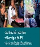 Các thực tiễn hứa hẹn về học tập suốt đời tại các quốc gia Đông Nam Á