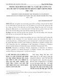 Phong trào bình dân học vụ và kết quả công tác xóa mù chữ ở nam bộ trong kháng chiến chống Pháp 1945-1954