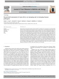 Bactericidal assessment of nano-silver on emerging and re-emerging human pathogens
