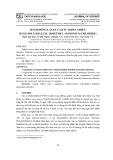 Đánh đông latex cao su thiên nhiên bằng poly(diallyl dimethyl ammonium chloride)