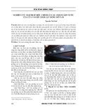 Nghiên cứu giải pháp điều chỉnh cơ cấu gioăng kín nước của cửa van để giảm lực đóng mở van