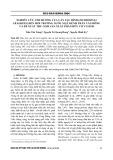Nghiên cứu ảnh hưởng của cây Lục bình (Eichhornia crassipes) đến môi trường nước mặt kênh Trần Văn Dõng và đề xuất thu gom sản xuất phân hữu cơ vi sinh
