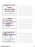 Bài giảng Vật lý đại cương A1: Chương 3 - TS. Nguyễn Thị Ngọc Nữ