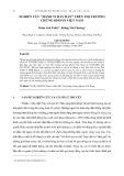 """Nghiên cứu """"hành vi bầy đàn"""" trên thị trường chứng khoán Việt Nam"""