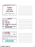 Bài giảng Vật lý đại cương A1: Chương 4 - TS. Nguyễn Thị Ngọc Nữ