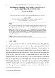 Giải pháp tìm kiếm ngữ nghĩa cho văn bản khoa học máy tính Tiếng Việt