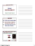 Bài giảng Vật lý đại cương A2: Chương 5 - TS. Nguyễn Thị Ngọc Nữ
