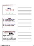 Bài giảng Vật lý đại cương A2: Chương 4 - TS. Nguyễn Thị Ngọc Nữ