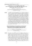 Ảnh hưởng của các loại thức ăn khác nhau lên sự tăng trưởng cá ngựa thân trắng (Hhippocampus kellogii jordan và snyder, 1902) ở vịnh Nha Trang