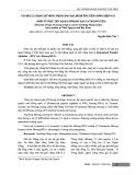 Vấn đề lựa chọn chữ Mông trong đào tạo, bồi dưỡng tiếng Mông hiện nay (nhìn từ thực tiễn tại hai tỉnh Bắc Kạn và Thái Nguyên)