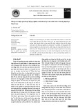 Nâng cao hiệu quả hoạt động nghiên cứu khoa học của sinh viên