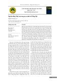 Ngữ âm tiếng Thái Lan trong sự so sánh với Tiếng Việt
