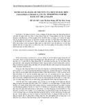 Đánh giá đa dạng di truyền của một số mẫu điều (anacardium occidentale l.) ở các tỉnh Đông Nam Bộ bằng kỹ thuật rapd