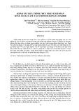Khảo sát quá trình thủy phân chitosan bằng cellulase tạo chitooligosaccharide