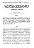 Tối ưu hóa công đoạn ủ xi lô với acid lactic trong quá trình sản xuất chitin từ phế liệu tôm thẻ chân trắng (penaeus vannamei) bằng phương pháp mặt đáp ứng