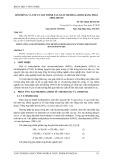 Mô phỏng và tối ưu qui trình sản xuất methylamine bằng phần mềm hysys