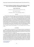 Xây dựng ontology thuộc lĩnh vực khoa học máy tính dựa vào cơ sở tri thức wikipedia và dbpedia