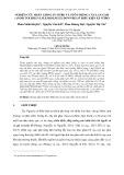 Nghiên cứu nhân giống in vitro và nuôi trồng cây lan gấm (anoectochilus lylei rolfe ex downies) ở điều kiện ex vitro