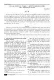Các loại hình nghệ thuật của đồng bào Khmer Nam Bộ - Thực trạng và giải pháp