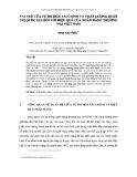 Vai trò của tự do hóa tài chính và chất lượng quản trị quốc gia đối với hiệu quả của ngân hàng thương mại Việt Nam