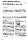 Nghiên cứu tình huống và việc áp dụng trong giảng dạy sinh viên ngành Thư viện - Thông tin tại các trường Đại học Việt Nam