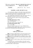 Biên bản dự thảo Thỏa ước lao động tập thể