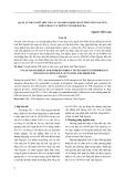 Quản lý nhà nước đối với các doanh nghiệp FDI trên địa bàn tỉnh Thái Nguyên: Hiện trạng và những vấn đề đặt ra