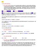 Lý thuyết câu trực tiếp và gián tiếp