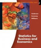 statistics for business and economics (11/e): part 2