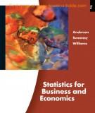 statistics for business and economics (11/e): part 1