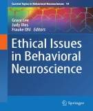 Ebook Ethical issues in behavioral neuroscience: Part 2