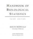 handbook of biolological statistics (3/e): part 1