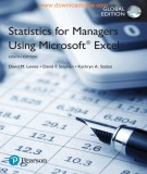statistics for managers using microsoft excel (8/e): part 1