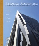 financial accounting - an introduction to concepts, methods, and uses (13/e): part 1