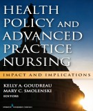 health policy and advanced practice nursing: part 1