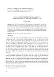 Áp dụng phương pháp dạy học đối ứng trong dạy kỹ năng đọc văn bản tiếng Anh