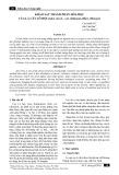 Khảo sát thành phần hóa học của lá cây lô hội (Aloe vera L. var. chinensis (Haw.) Berger)