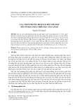 Lựa chọn phương pháp dạy học phù hợp đối với học phần triết học Mác-Lênin