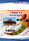 1500 Câu hỏi trách nghiệm Toán 11 ôn thi THPT Quốc gia năm 2019