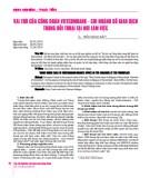 Vai trò của công đoàn Vietcombank - Chi nhánh sở giao dịch trong đối thoại tại nơi làm việc