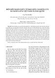 Biến đổi nhận thức về đạo hiếu: Nghiên cứu so sánh giữa Việt Nam và Hàn Quốc