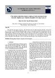 Ứng dụng phương pháp compact để giải bài toán ngược trọng lực trong nghiên cứu địa vật lý