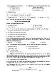 Đề kiểm tra HK2 môn Ngữ văn lớp 9 năm 2017-2018 - Phòng GD&ĐT Tam Dương