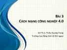Bài giảng Tin văn phòng 2: Bài 3 - ThS. Thiều Quang Trung