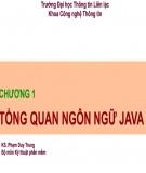 Bài giảng Kỹ thuật phần mềm: Chương 1 - Phạm Duy Trung
