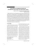 Ảnh hưởng gabapentin trước mổ lên kiểm soát đau sau mổ thay khớp háng toàn bộ