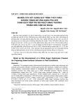Nghiên cứu xây dựng quy trình thủy phân đường trắng để ứng dụng pha chế dung dịch tiêm truyền ngọt đẳng trương trong điều kiện dã ngoại